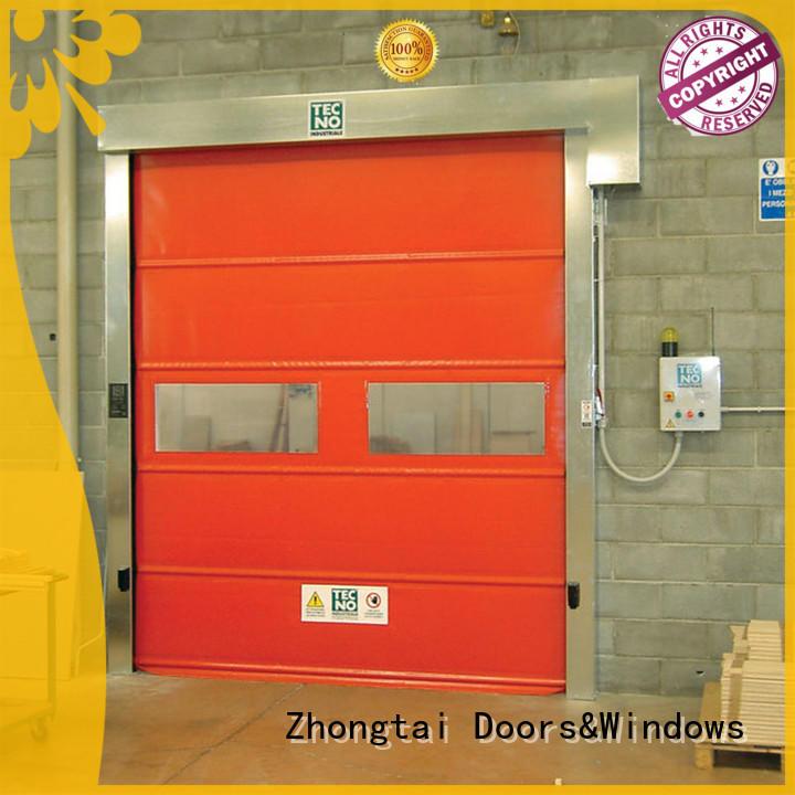 Zhongtai Wholesale high speed doors suppliers for workshop