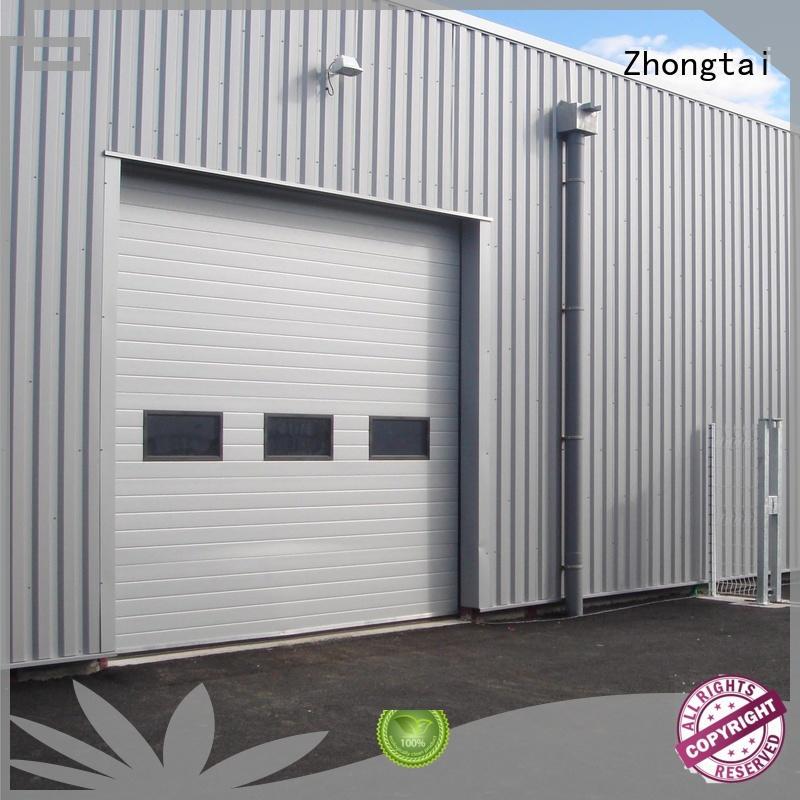 Latest industrial roller shutter doors windproof for sale for workshop