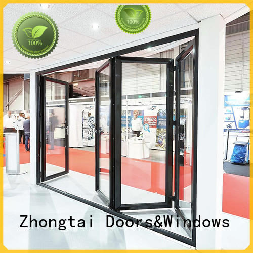 Custom Aluminium Folding Door aluminum factory for house