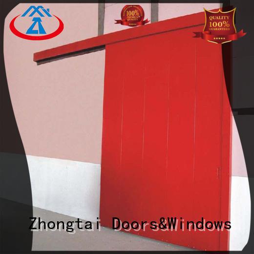 Zhongtai steel industrial sliding door company for warehouse