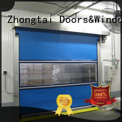 high quality speed door performance for business for logistics center