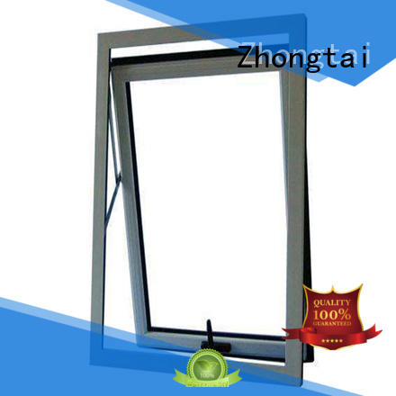 Zhongtai double aluminum windows price suppliers for building