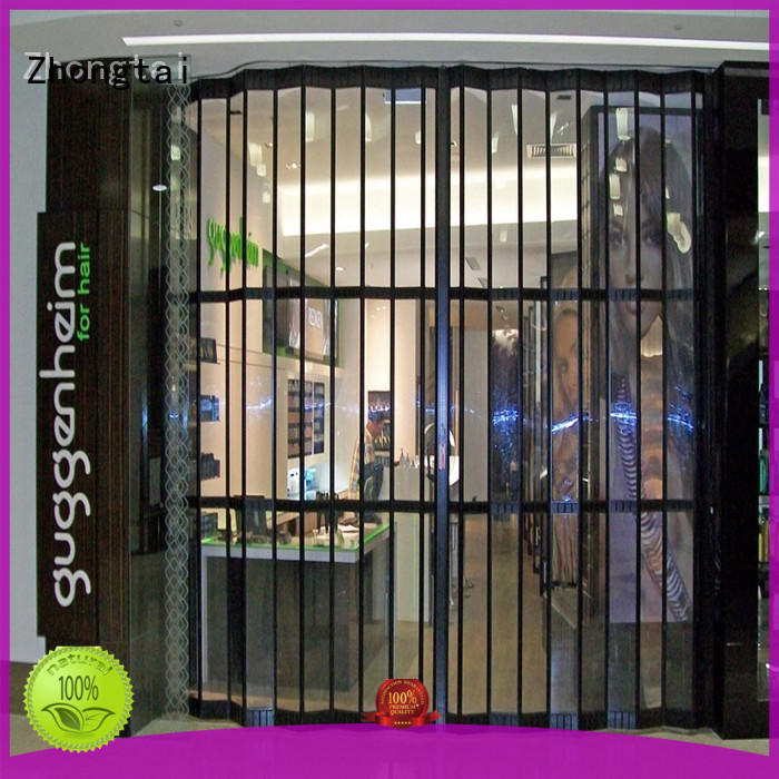 New commercial shutters clear supply for shop