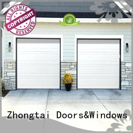 customized electric garage doors control prevent outside malicious for residential buildings
