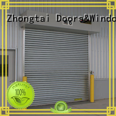 Zhongtai Best steel roll up doors company for house