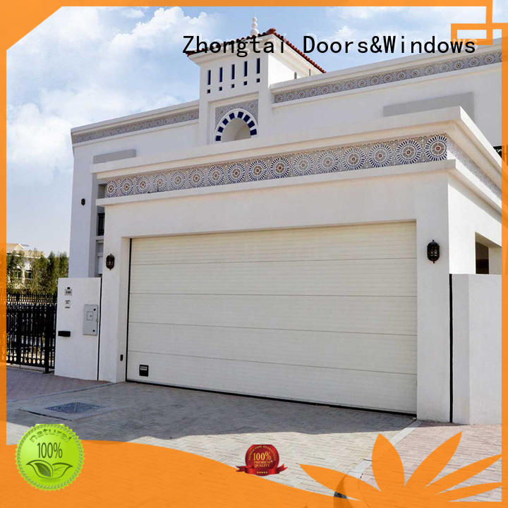 Zhongtai customized garage doors for sale for sale for garage
