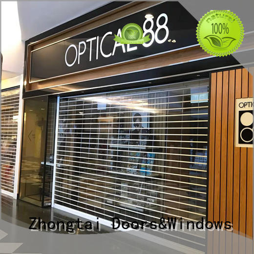 New shop shutter prices modern manufacturers for clothing store