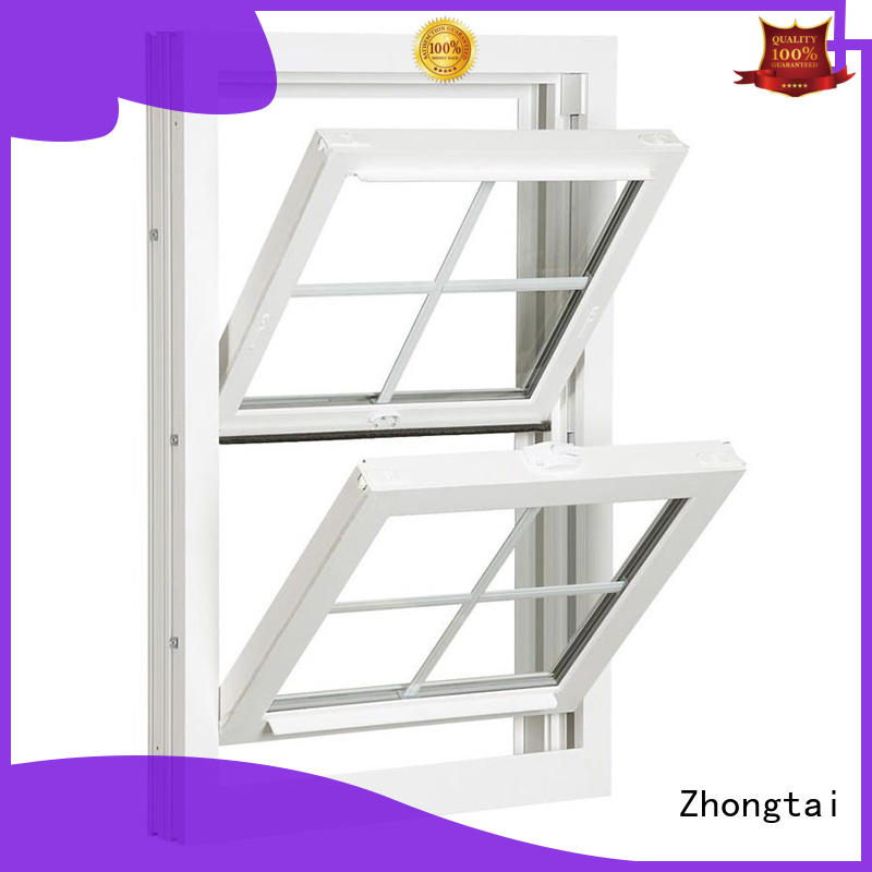 Zhongtai online aluminium window factory for villa
