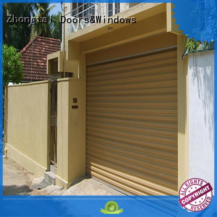 Zhongtai white impact doors for sale for garage