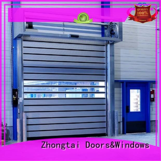 Zhongtai rapid high speed doors suppliers for workshop