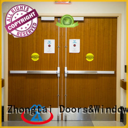 Latest fire resistant door firerated supply for indoor