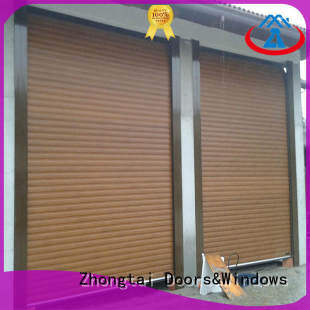Zhongtai vertical hurricane doors for sale for house