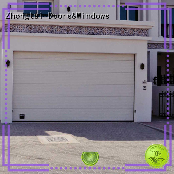 Zhongtai high quality roll up garage doors for business for house