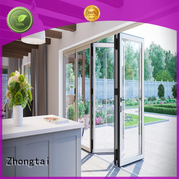 Zhongtai horizontal aluminium door frame company for high-grade villas