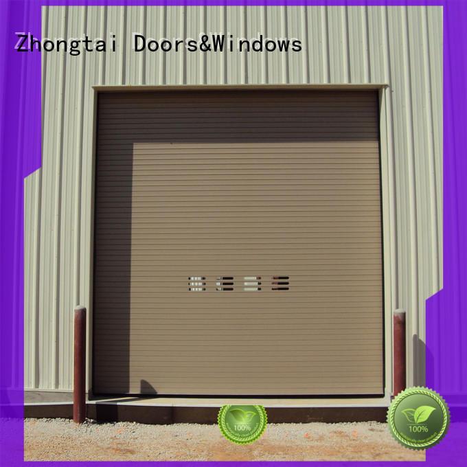 Zhongtai bank metal shutters supply for garage
