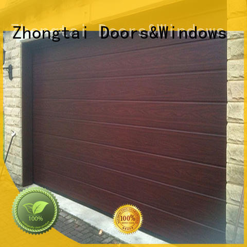 Zhongtai Latest garage doors for sale manufacturers for warehouse