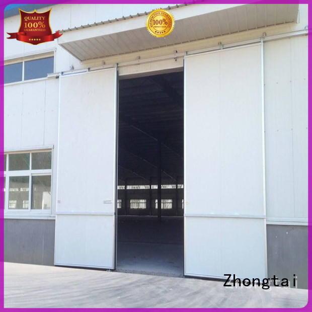 Zhongtai windproof industrial roller doors suppliers for warehouse