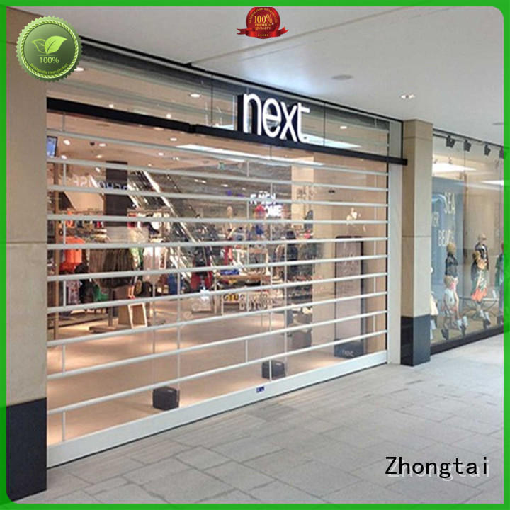 High-quality shop roller doors vision factory for commercial shop
