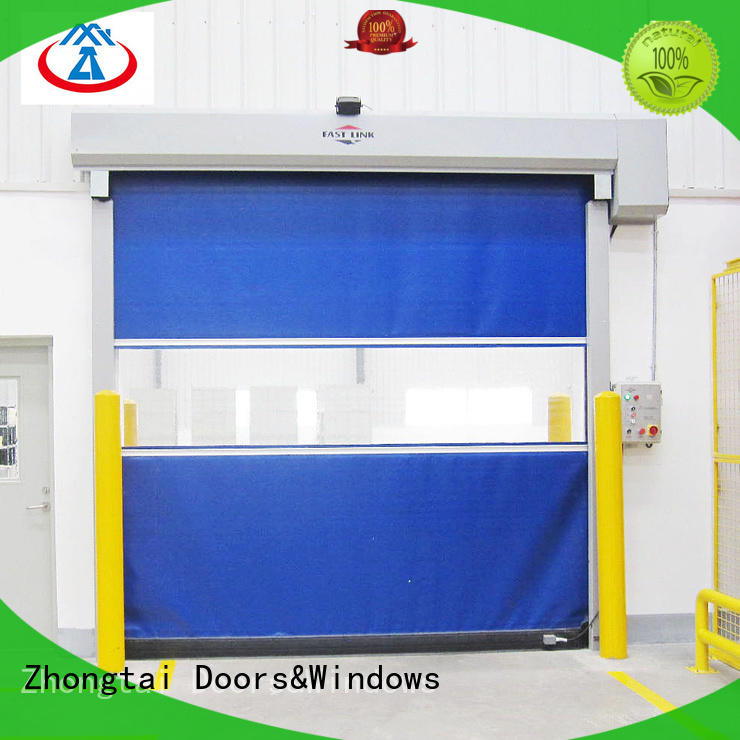 Latest speed door performance suppliers for logistics center