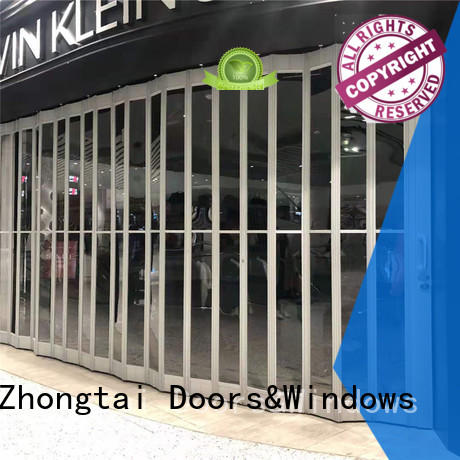 Zhongtai Latest commercial shutters supply for supermarket