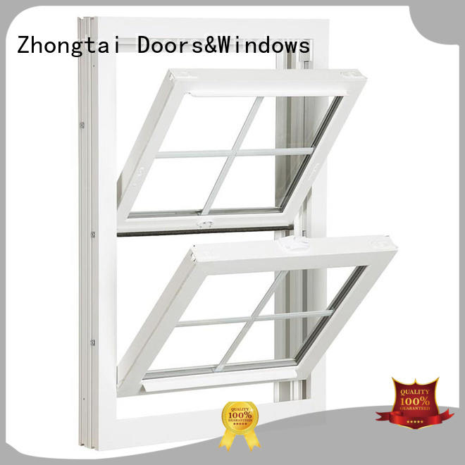 High-quality aluminium window double factory for building