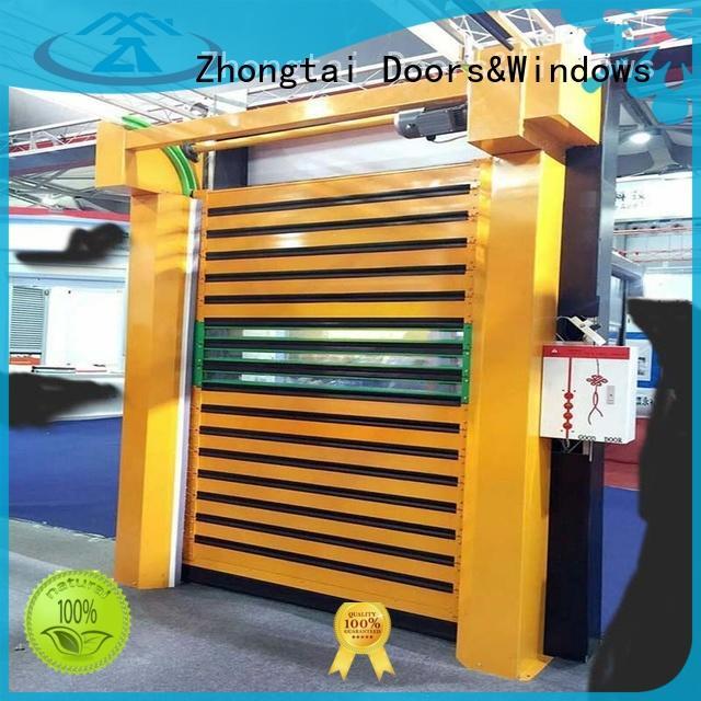 Zhongtai door high speed doors manufacturer for electronics
