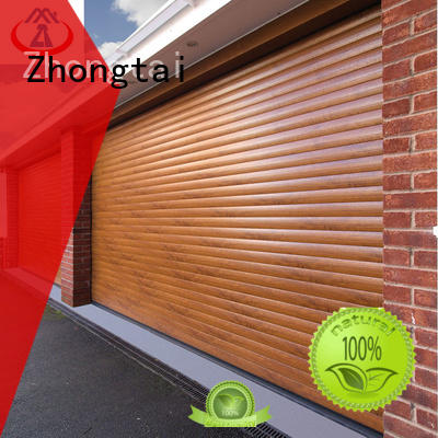 Zhongtai Latest commercial metal doors suppliers for clothing store