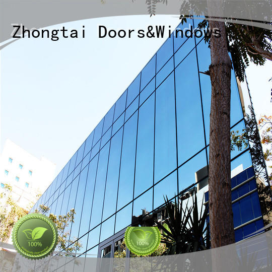 High-quality glass curtain wall building company for buliding