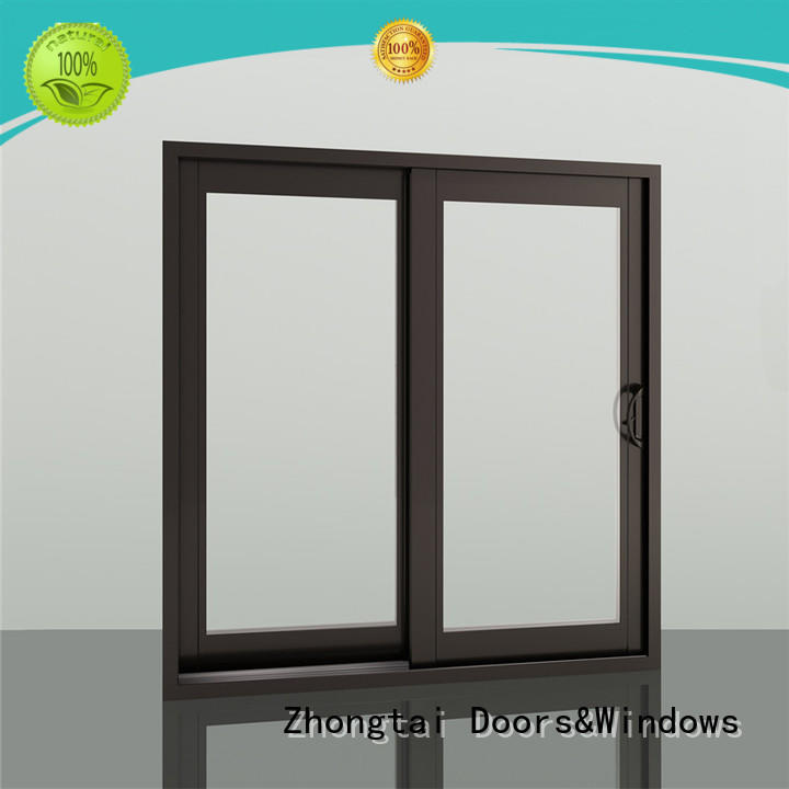 Zhongtai Wholesale aluminium sliding window for business for home