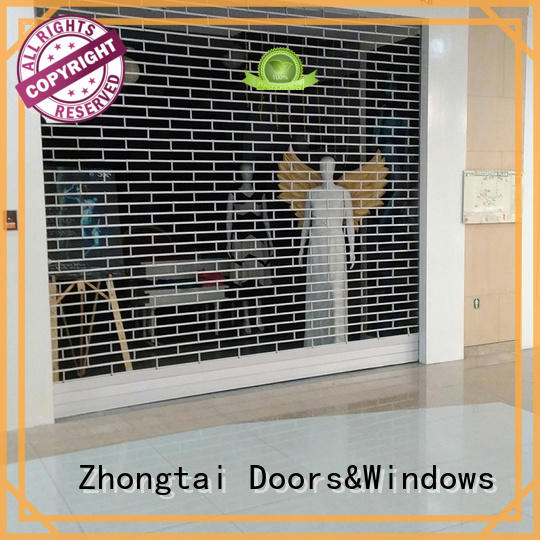 Zhongtai Top security shutters suppliers for store