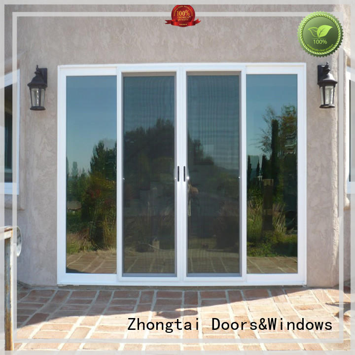 Wholesale aluminium french doors swing manufacturers for villa
