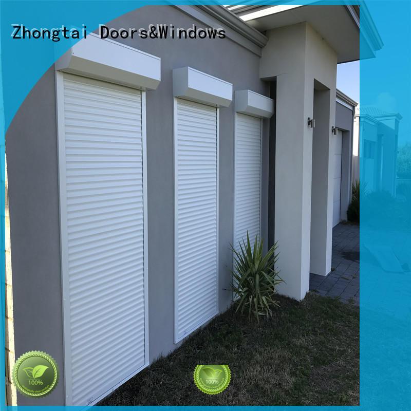 Zhongtai durable metal shutters manufacturers for garage