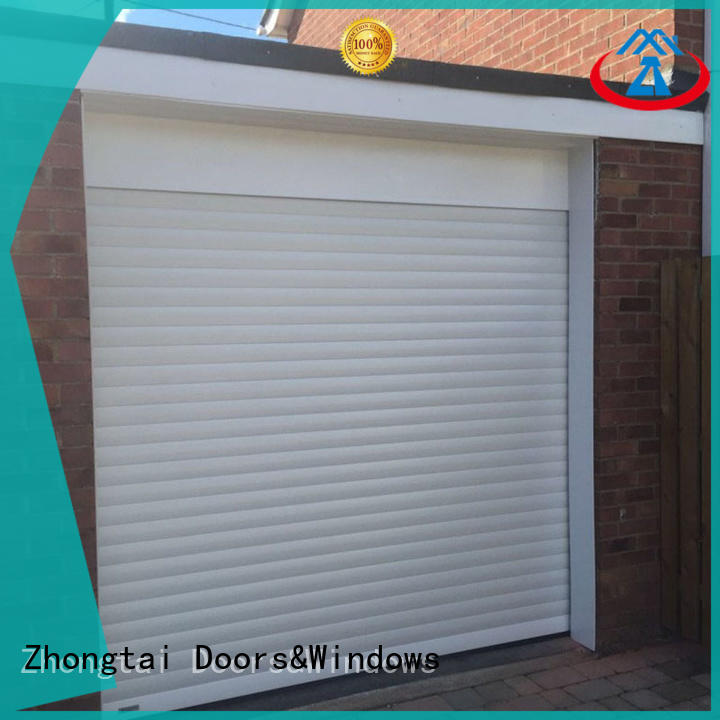 Custom aluminium shutters down manufacturers for garage