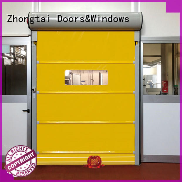 Custom speed door door suppliers for logistics center