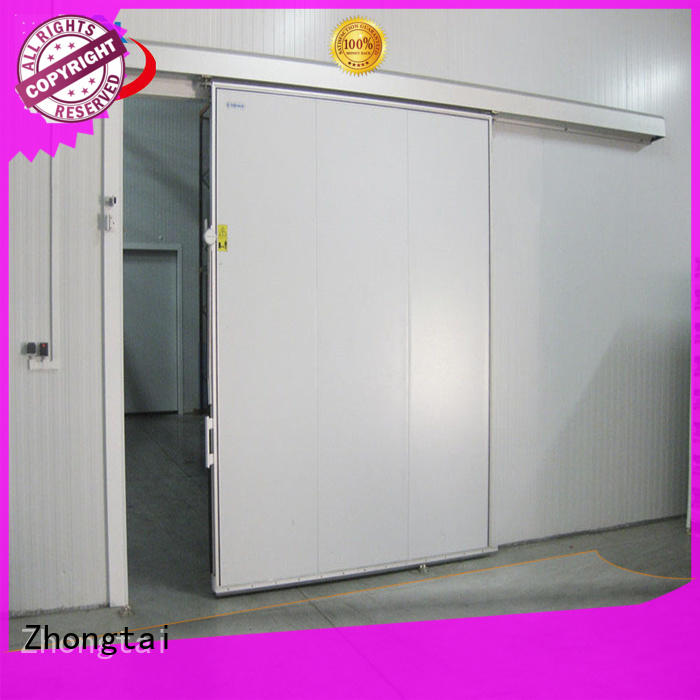 Zhongtai weight industrial sliding door supply for warehouse