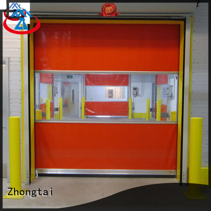 Zhongtai advanced speed door factory for factory