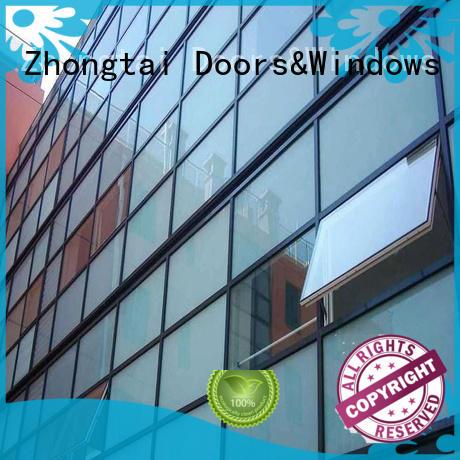 Zhongtai modern glass curtain company for buliding