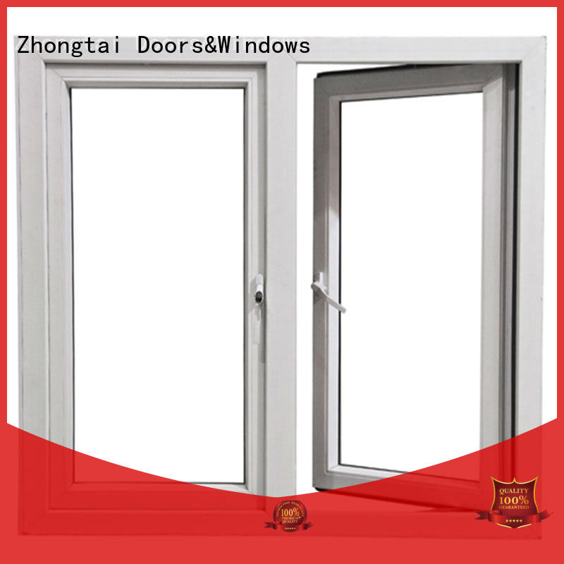 Zhongtai Top aluminium windows prices factory for hotel