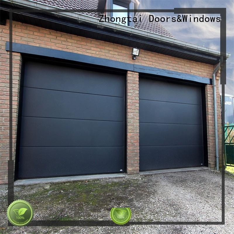 Zhongtai pu garage doors for sale supply for warehouse