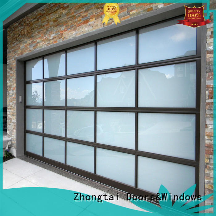 Zhongtai Custom roll up garage doors suppliers for warehouse