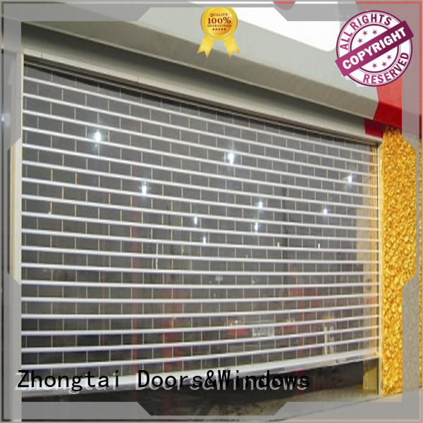 Zhongtai high quality shop shutter prices for business for commercial shop