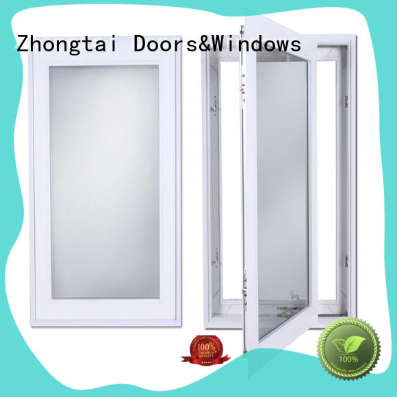 Zhongtai quality aluminium windows prices supply for house