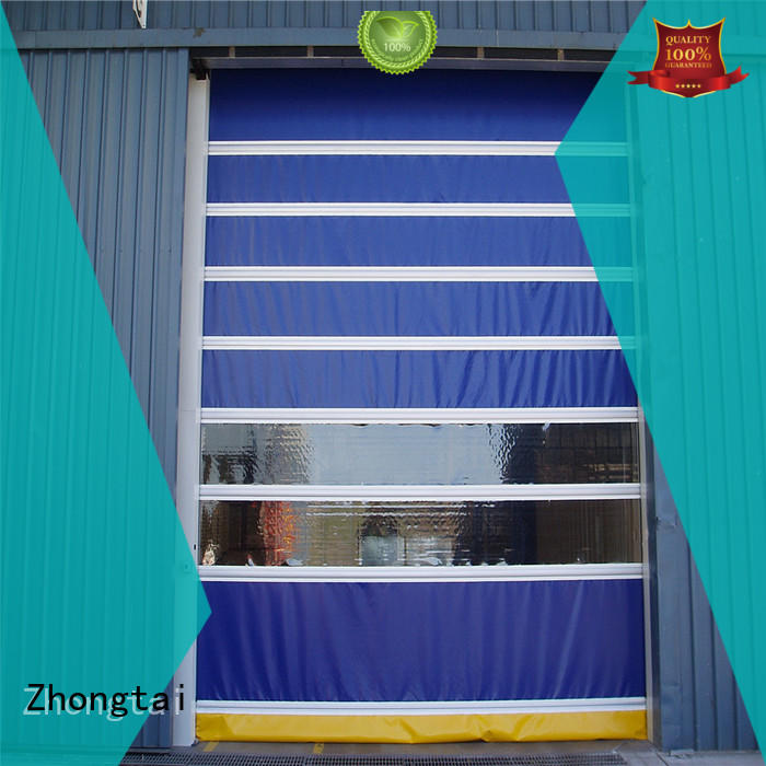 Zhongtai customized speed door company for workshop
