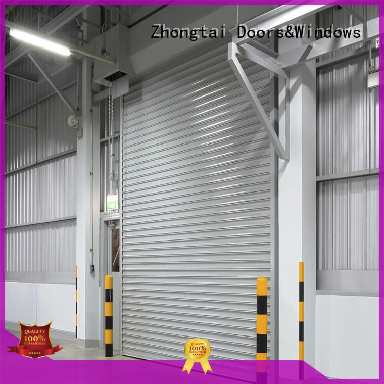 Zhongtai large industrial door company manufacturers for warehouse