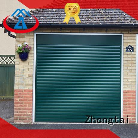 Zhongtai surface aluminum garage doors company for high-grade villas