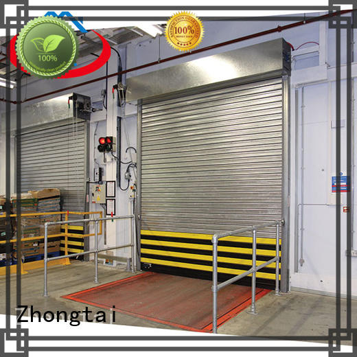 Zhongtai steel cheap fire doors manufacturers for hypermarkets