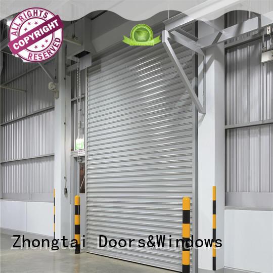 Zhongtai safety industrial roller shutter doors suppliers for warehouse