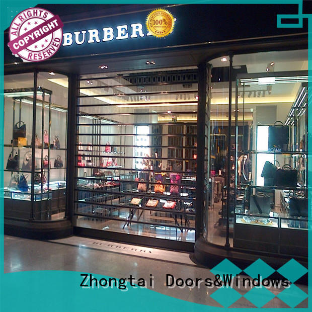 New shop roller shutters surface company for commercial shop