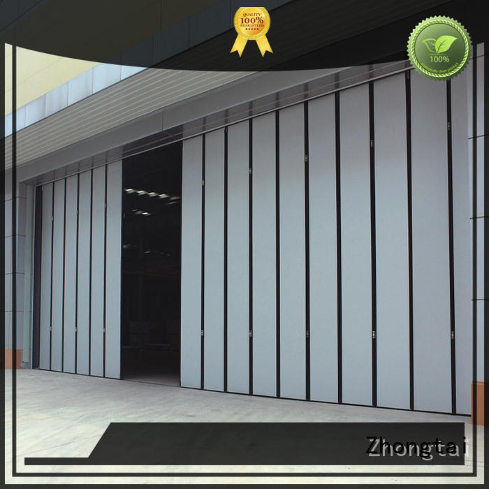 Zhongtai Wholesale industrial sliding door supply for industrial zone