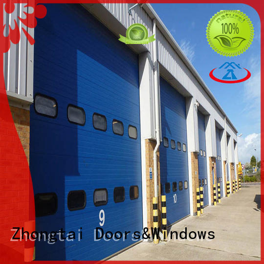 Zhongtai High-quality industrial door company for sale for warehouse
